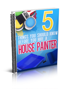 5 things you should know BEFORE hiring a house painter